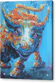 Bull Market C1 Acrylic Print by John Henne