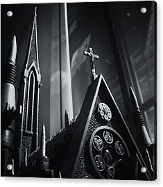 Bullet Church Acrylic Print