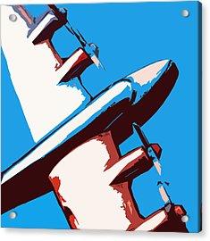 Bullet Plane Acrylic Print by Slade Roberts