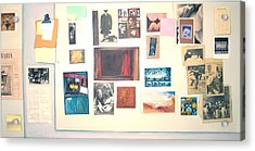 Bulletin Board Acrylic Print by James LeGros
