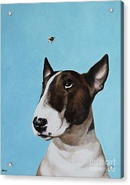Bully And Bee Acrylic Print