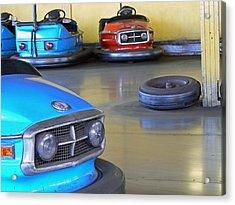 Bumper Cars  Acrylic Print