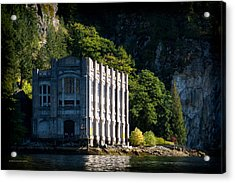 Buntzen Lake Power Station  Acrylic Print
