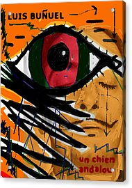 Bunuel Chien Andalou Poster  Acrylic Print