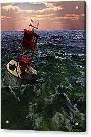 Buoy 14 Acrylic Print by Williem McWhorter