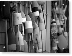 Buoys Acrylic Print by Eric Gendron