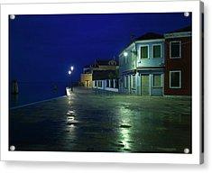 Burano I - Italy Acrylic Print by Marco Hietberg