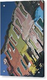 Burano Italy Reflections Acrylic Print
