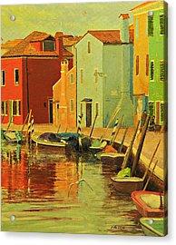 Burano, Italy - Study Acrylic Print