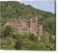 Burg Reichenstein Acrylic Print by Alan Zeleznikar