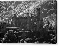 Burg Reichenstein B W Acrylic Print