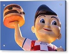 Burger Bob Acrylic Print