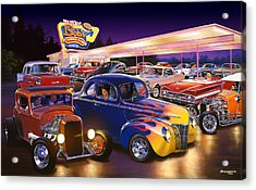 Burger Bobs Acrylic Print by Bruce Kaiser