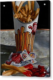 Burger King Value Meal No. 5 Acrylic Print by Thomas Weeks