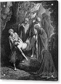 Burial Of Jesus Acrylic Print