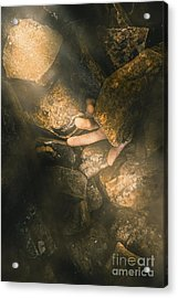 Buried Alive Acrylic Print by Jorgo Photography - Wall Art Gallery