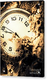 Buried By The Hands Of Time Acrylic Print
