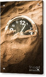 Buried In The Sands Of Time Acrylic Print by Jorgo Photography - Wall Art Gallery
