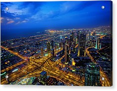 Burj Khalifa View Acrylic Print