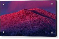 Burke Alpenglow Acrylic Print