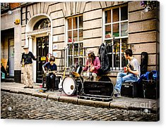 Burkers In Dublin Acrylic Print by RicardMN Photography