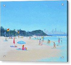 Burleigh Heads Gold Coast Australia Acrylic Print