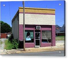 Burlington North Carolina - Small Town Business Acrylic Print by Frank Romeo