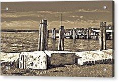 Burlington Pier Acrylic Print