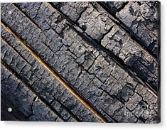 Burnt Bark Acrylic Print