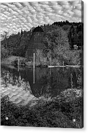 Burner - Old Mill Site Acrylic Print by HW Kateley