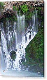 Burney Falls Acrylic Print by Eric Foltz