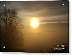 Burning Off The Fog Acrylic Print