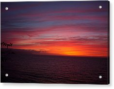 Burning Sky 2 Acrylic Print by James Johnstone