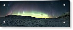 Burning Sky Acrylic Print by Tor-Ivar Naess