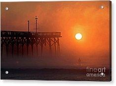 Burning Through Acrylic Print