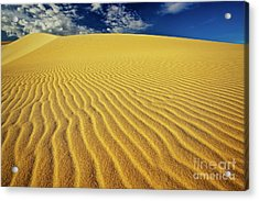 Burning Up At The White Sand Dunes - Mui Ne, Vietnam, Southeast Asia Acrylic Print