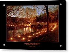 Burnside Bridge 96 Acrylic Print