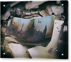 Burnt Acrylic Print by Karen Stahlros