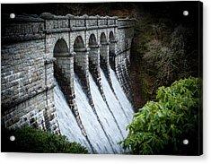Burrator Reservoir Dam Acrylic Print
