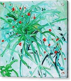 Burst Acrylic Print by Maria Curcic