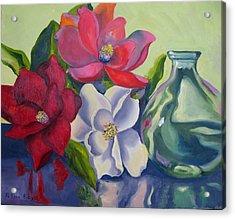 Burst Of Color Acrylic Print by Lisa Boyd