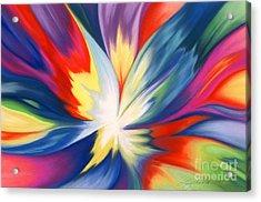 Burst Of Joy Acrylic Print by Lucy Arnold