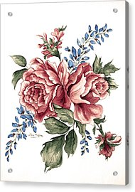 Bursting Blooms Acrylic Print by Patty Muchka