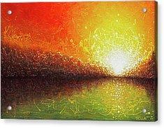 Bursting Sun Acrylic Print by Jaison Cianelli
