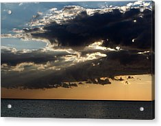 Bursting Through Acrylic Print by Laurie Search