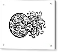 Bursting With Love Acrylic Print