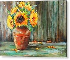 Bursts Of Sunshine Acrylic Print
