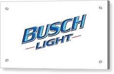 Busch Light Acrylic Print