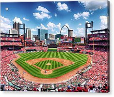 Busch Stadium Section 249 Acrylic Print