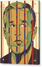 Bush Acrylic Print by Dennis McCann